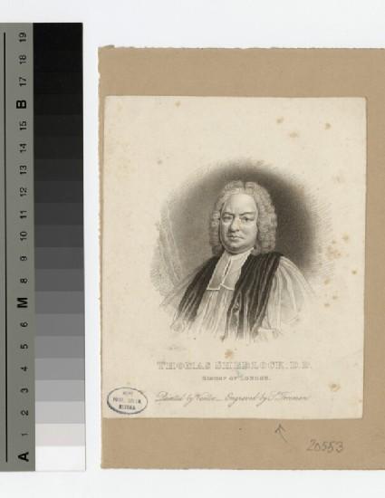 Portrait of Bishop T. Freeman Sherlock