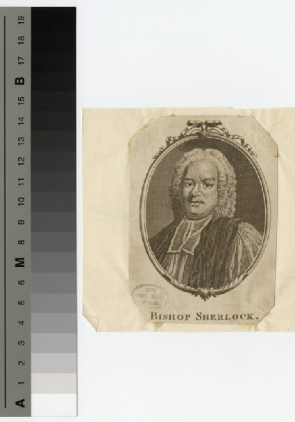 Portrait of Bishop T. Sherlock