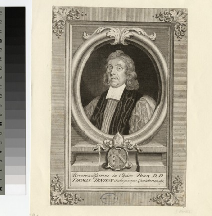 Portrait of Archbishop T. Tenison
