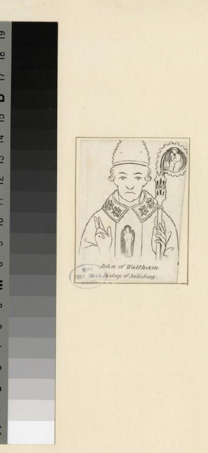 Portrait of Bishop Waltham