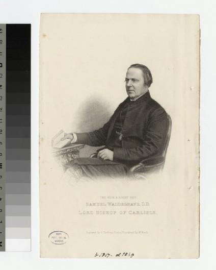 Portrait of Bishop S. Waldegrave