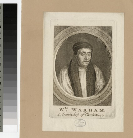 Portrait of Archbishop Warham