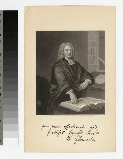 Portrait of Bishop W. Warburton