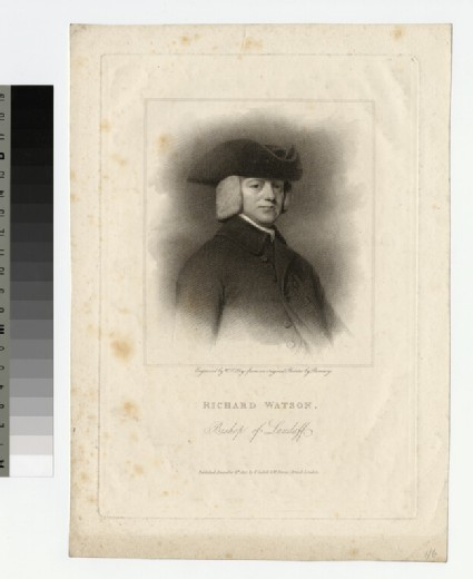 Portrait of Bishop Richard Watson
