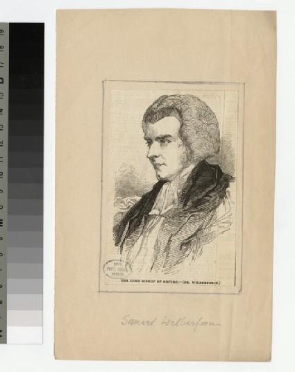 Portrait of Bishop S. Wilberforce