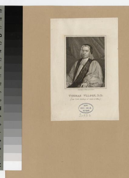 Portrait of Bishop T. Wilson