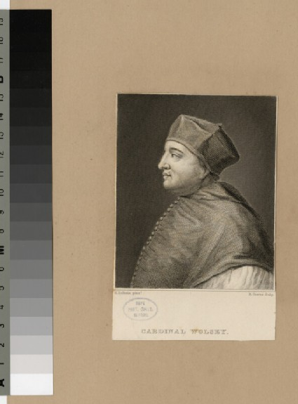 Portrait of Archbishop Wolsey