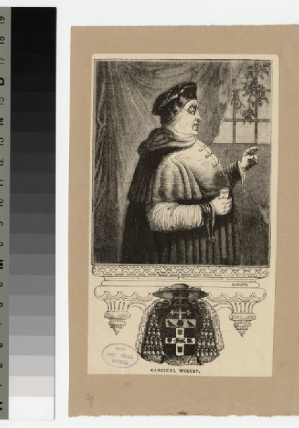 Portrait of T. Wolsey
