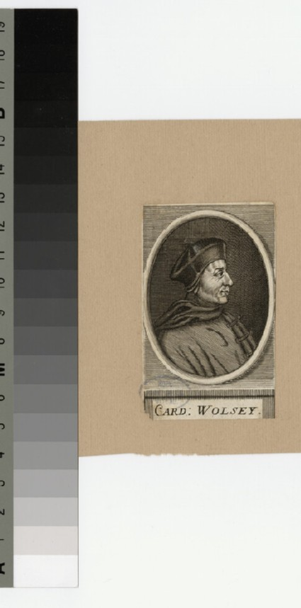 Portrait of Thomas Wolsey