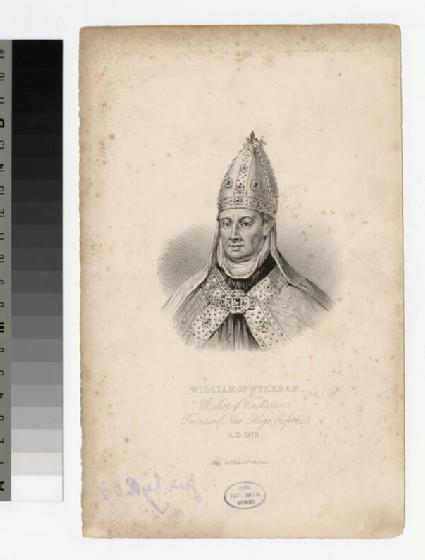 Portrait of W. of Wykeham