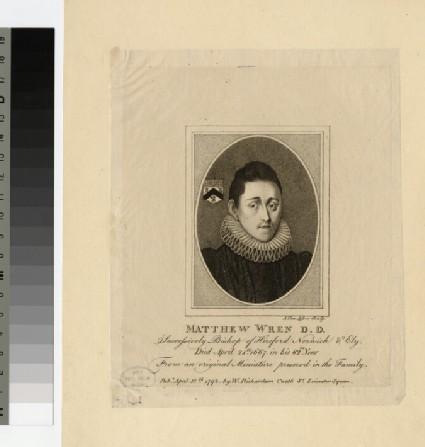 Portrait of Bishop M. Wren