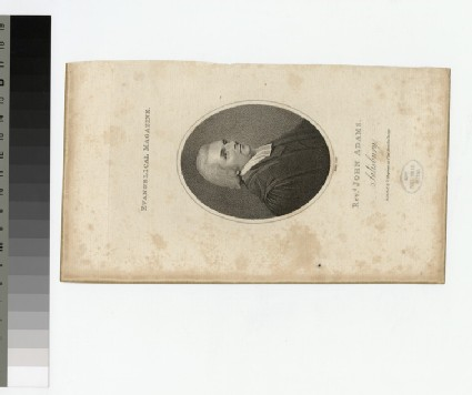 Portrait of Rev.J. Adams