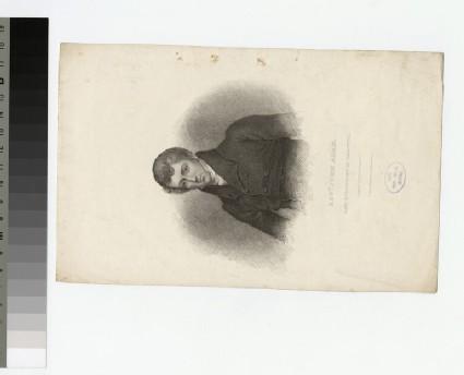 Portrait of Rev.J. Adam