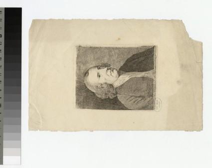 Portrait of Rev. Mr Adams