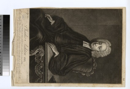 Portrait of Rev.Dr C. Ashton