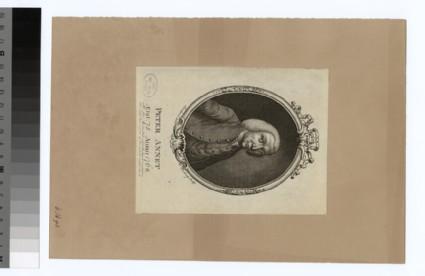 Portrait of P. Annet
