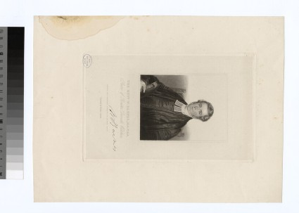 Portrait of Rev.W. Barnes