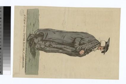 Portrait of Rev. Dr F. Barnes