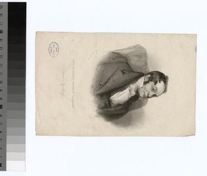 Portrait of R. H. Barham