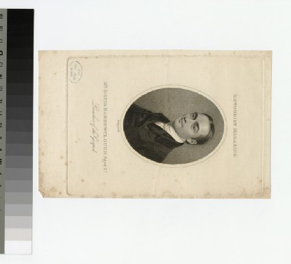Portrait of D. Barrowclough