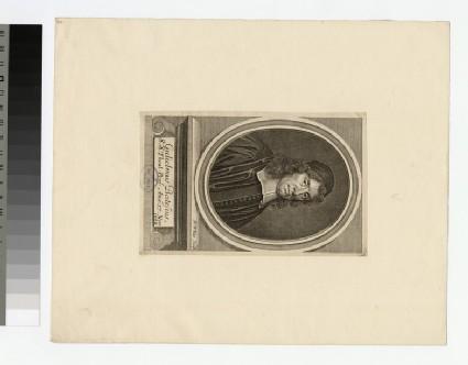 Portrait of Revd W. Bates