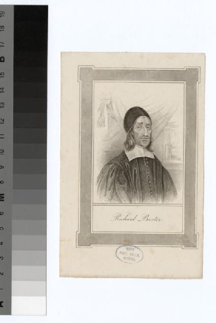 Portrait of R. Baxter