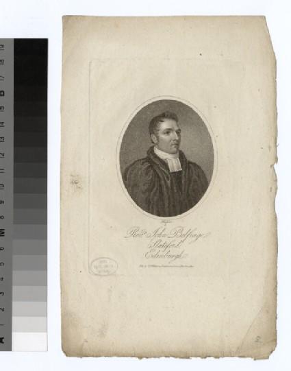 Portrait of J. Belfrage