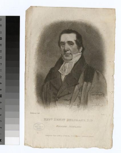 Portrait of H. Belfrage