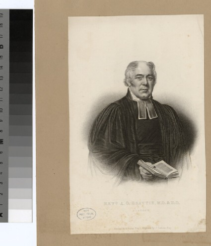 Portrait of A. G. Beattie