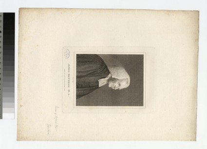 Portrait of Revd J. Bentham