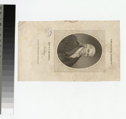 Portrait of J. Bicheno