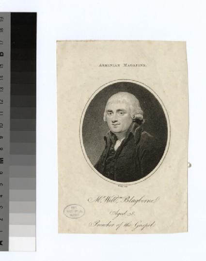Portrait of W. Blagborne