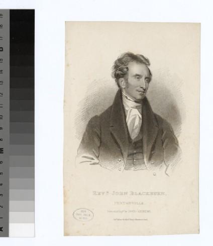Portrait of J. Blackburn
