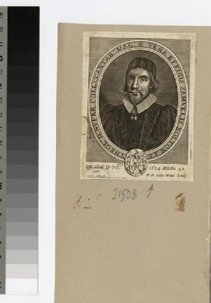 Portrait of Revd Dr S. Bolton