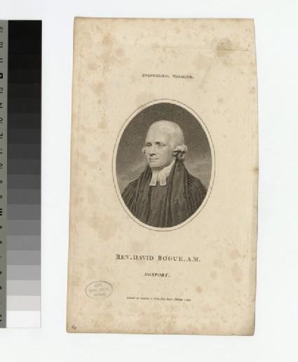 Portrait of D. Bogue