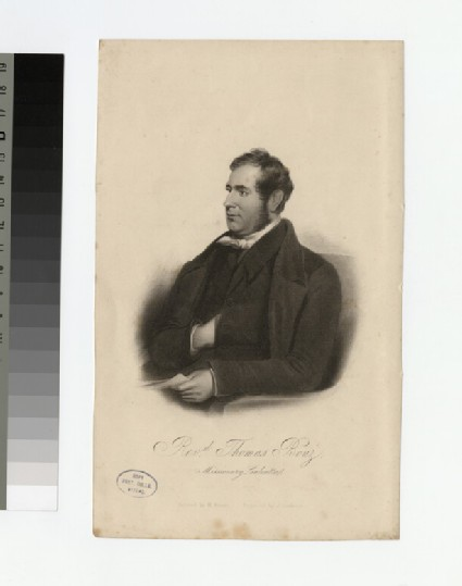 Portrait of T. Boaz