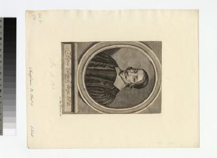 Portrait of Revd Edward Boys
