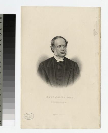 Portrait of J. S. Bright