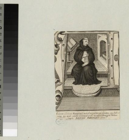 Portrait of an unidentified monk