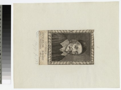 Portrait of W. Bridge