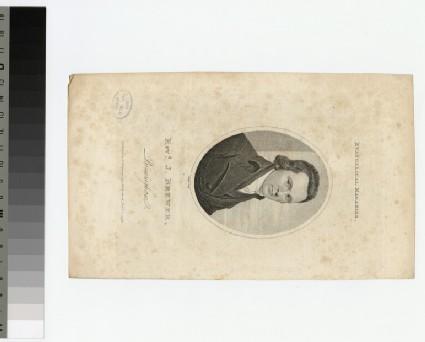 Portrait of J. Brewer