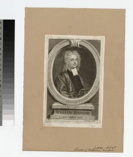 Portrait of Revd Dr W. Broome