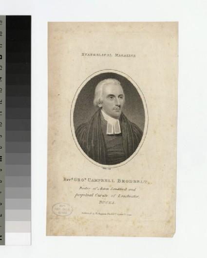 Portrait of G. C. Brodbelt