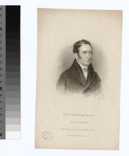 Portrait of J. Le Brun