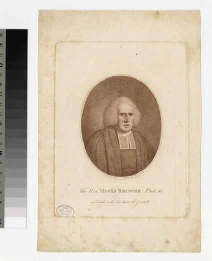 Portrait of M. Browne