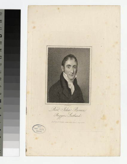 Portrait of J. Brown