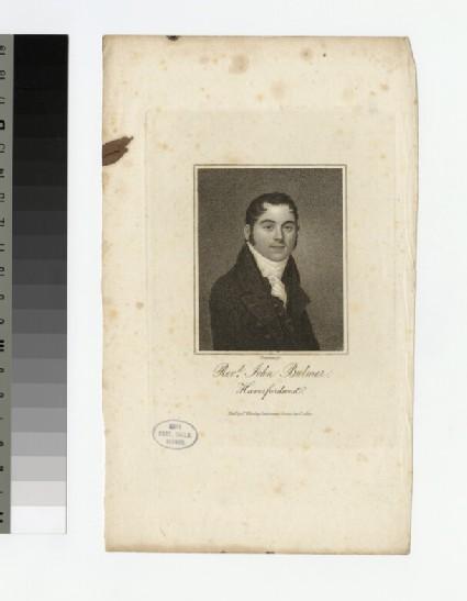 Portrait of J. Bulmer