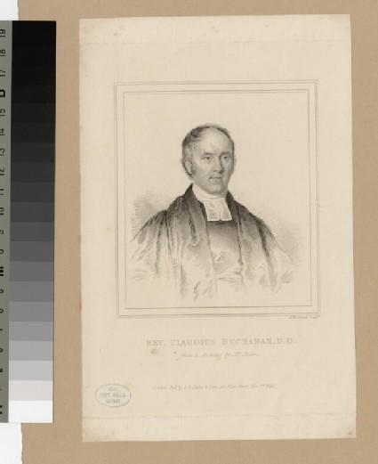 Portrait of Claudius Buchanan