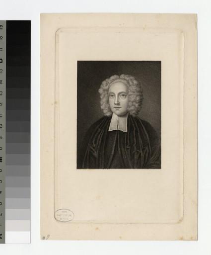 Portrait of Rev. W. Burkitt
