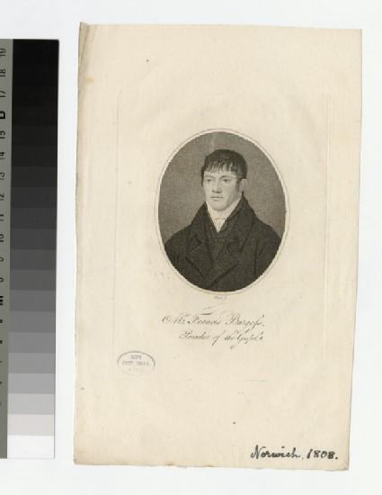 Portrait of F. Burgess